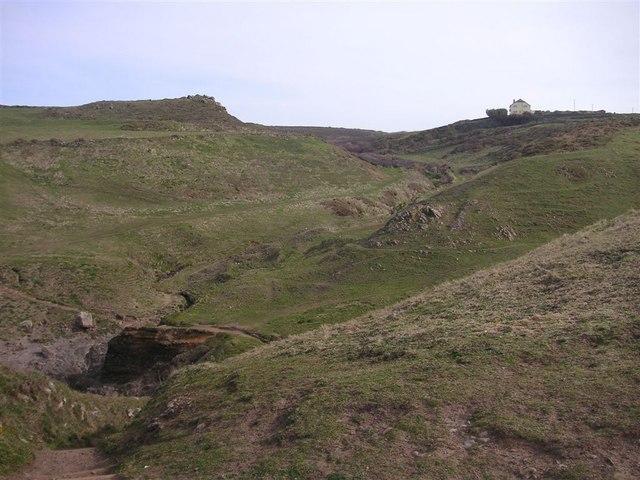 Inland from Caerthilian Cove