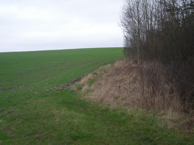 Little used path over open countryside