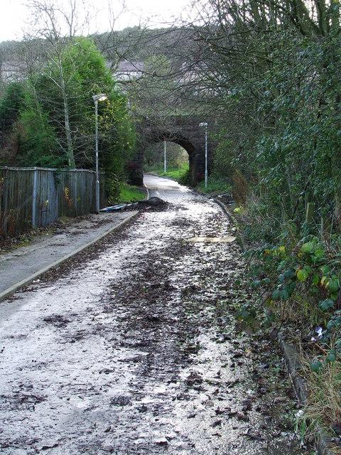 Branchton railway arch