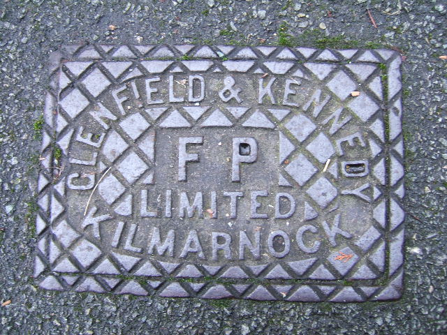 Cast Iron Grid Cover, Canadian Avenue, Hoole, Chester