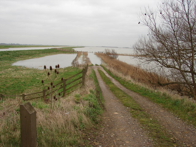 Flooding on River Nene