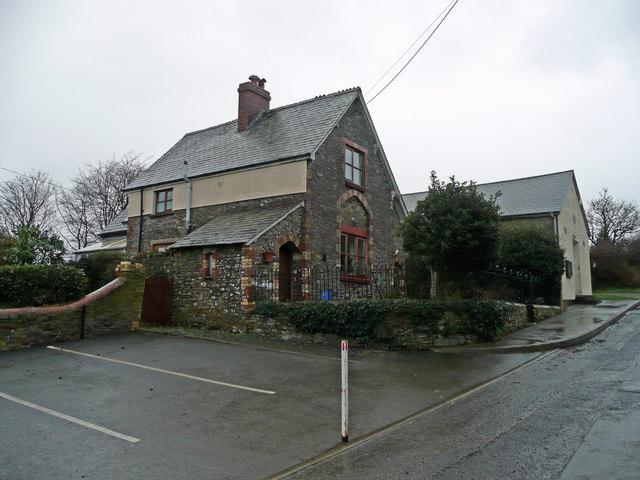 Old school house, Huntshaw