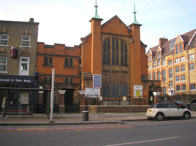 Evangelical Reformed Church, Lauriston Road, South Hackney