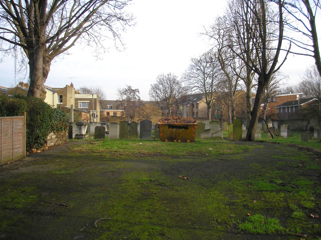 Jewish burial ground, Lauriston Road, South Hackney