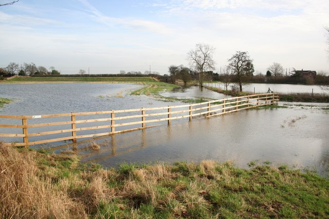 Floods at Girton