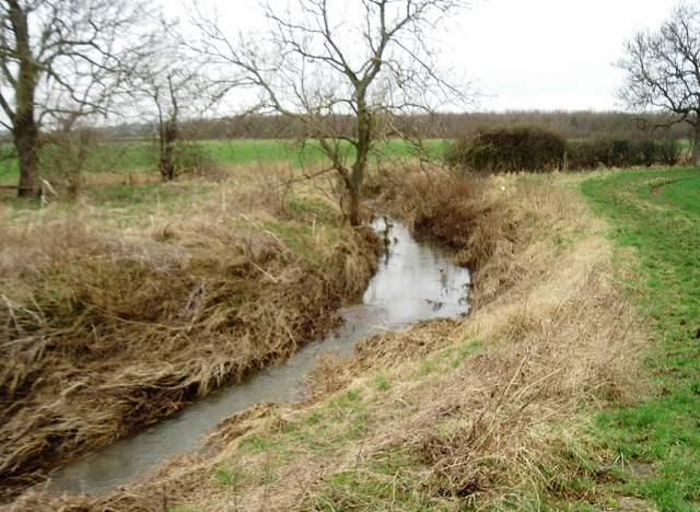 Alconbury Brook near Steeple Gidding