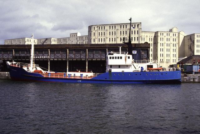 Bristol Docks 1986