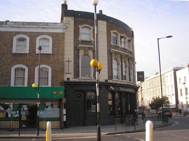 The 'Lauriston' public house, South Hackney