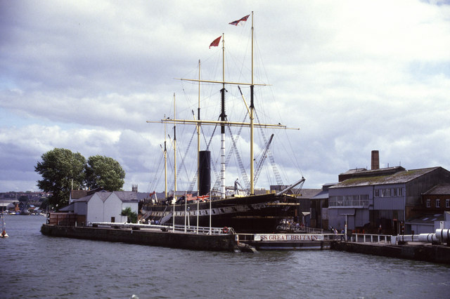 SS Great Britain 1986