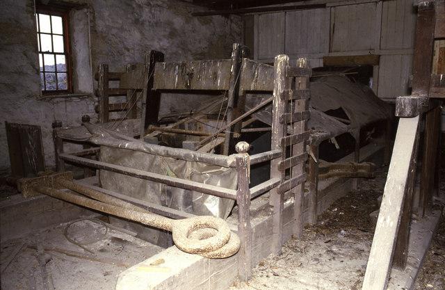Dorothea beam engine - the beam chamber.