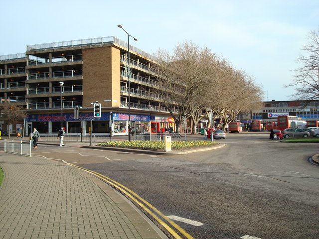 Allhallows Car Park and Bus Station, Bedford