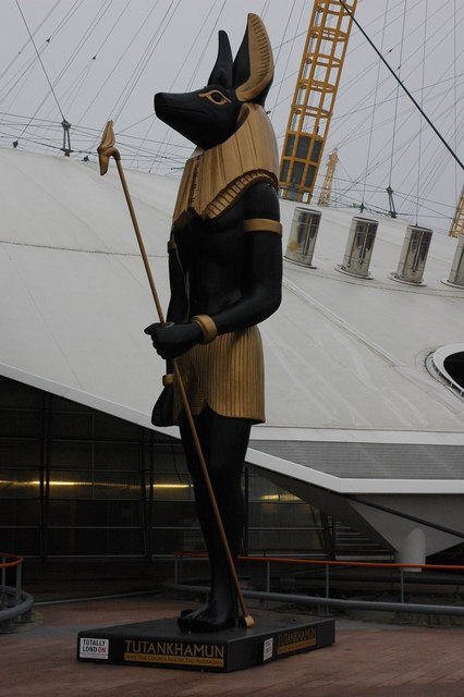 Promotion of Tutankhamun Exhibition, O2 Arena