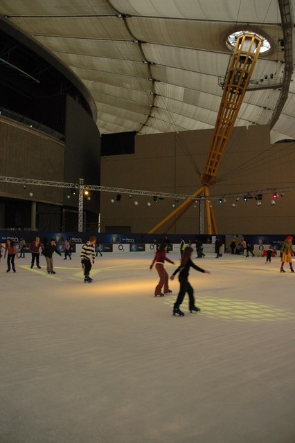 Ice rink in the O2 Arena
