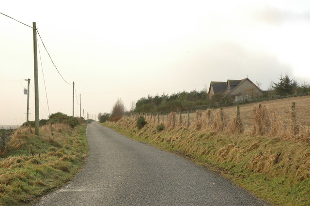 Country road near Ladybog