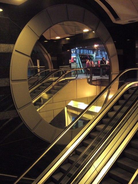 Escalators, Charing Cross Station
