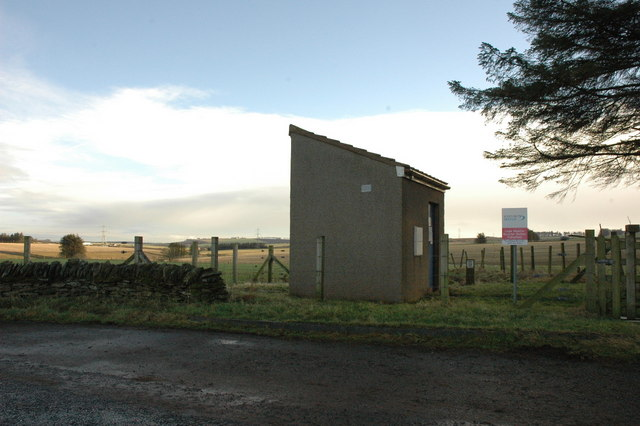 Scottish Water Logie Newton Booster Station