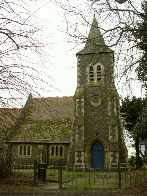 St. Peter's; the parish church of Shelley, Essex