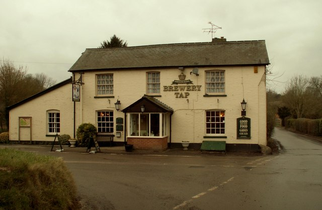 The 'Brewery Tap' inn, at Furneux Pelham
