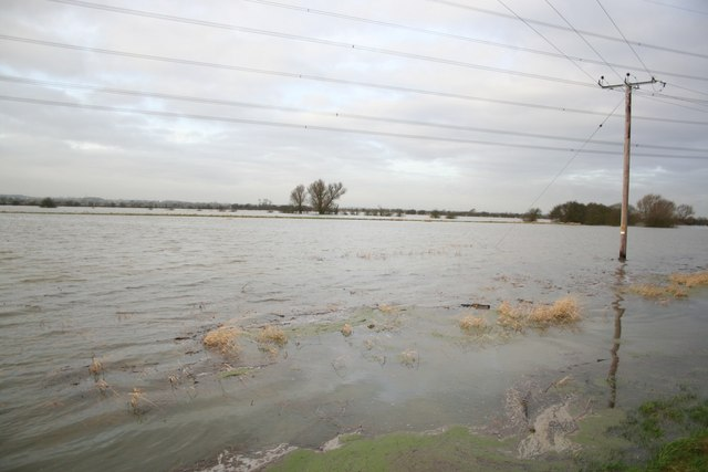 Flooding at Girton