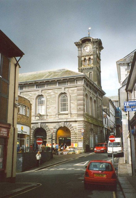The Guildhall, Market Street, Liskeard