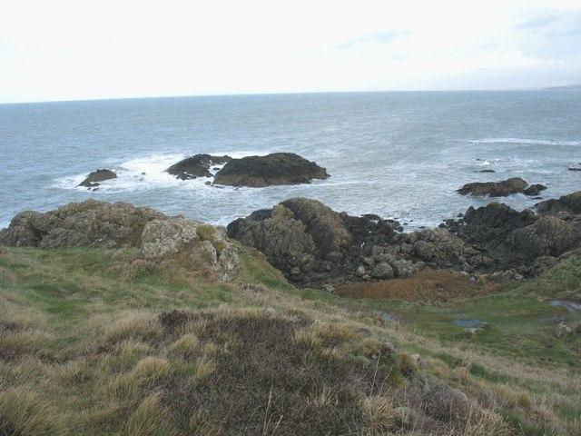 Offshore reef north of Trwyn Porthdinllaen