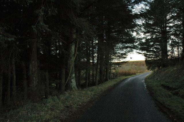 Unclassified road near Meadowhead