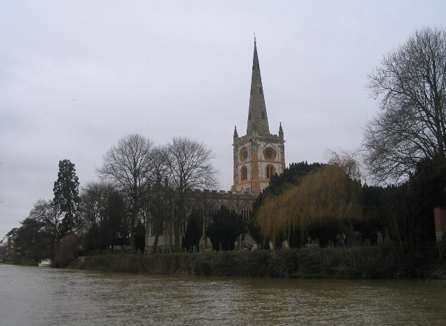 The Avon and Holy Trinity church