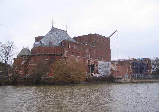 Royal Shakespeare Theatre, work in progress