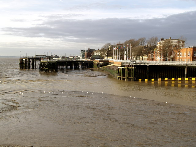 Victoria Pier from The Deep