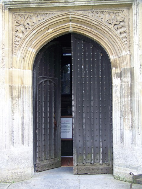 West Door, St Mary's Church, Bruton
