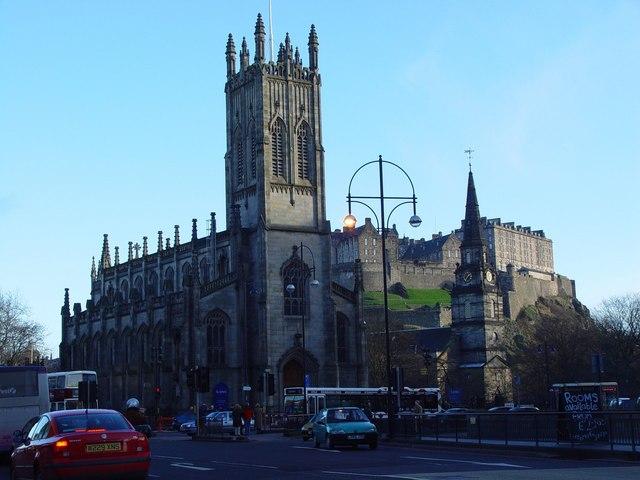 St John's Church, Princes Street, Edinburgh