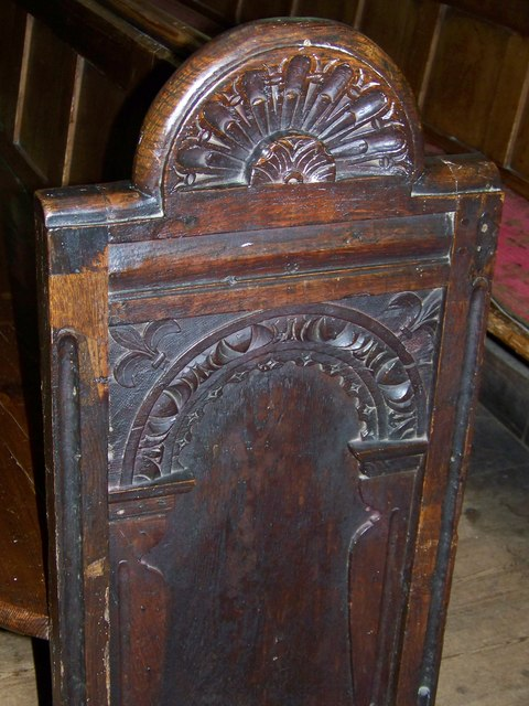 Pew ends, St Mary's Church, Bruton