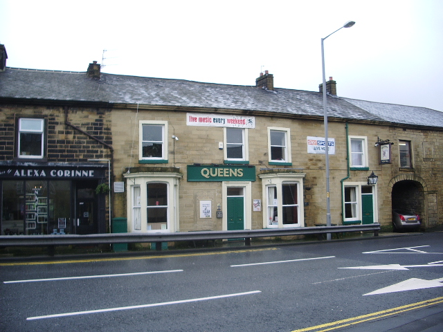 The Queens Hotel, Burnley Road, Colne