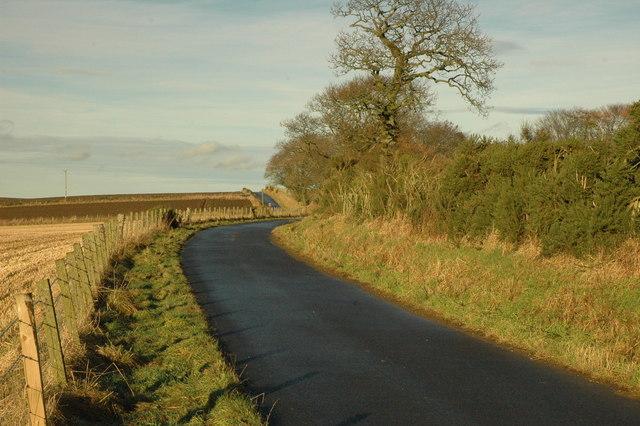 Country road near Baikiehill