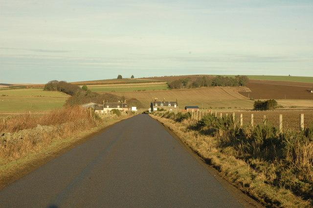 B992 toward Badenscoth