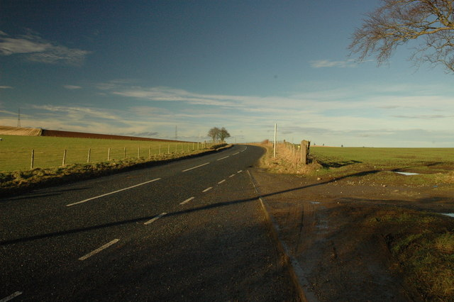 B9001 north of Rothienorman