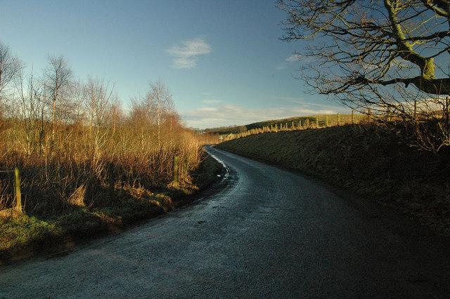 Country road near Blackford