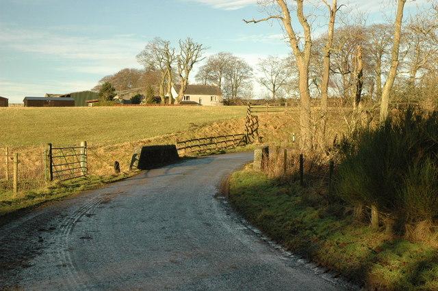 Road bridge over the Black Burn