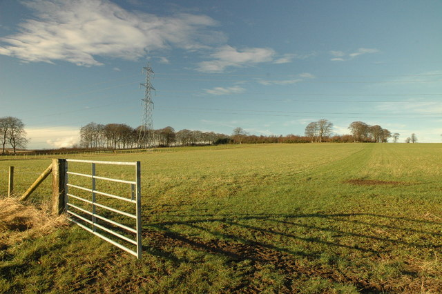 Farmland near Blackford