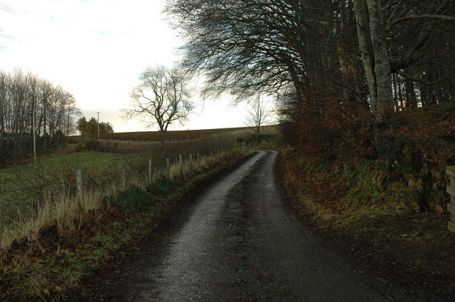 Country road near Drachlaw