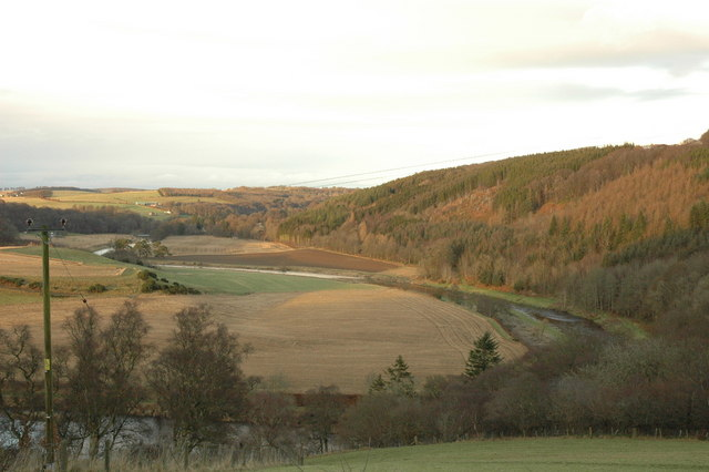 Valley of the river Deveron