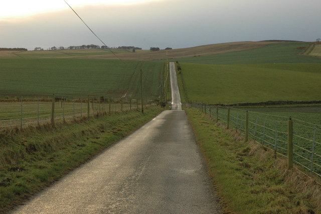 Minor road near Ardfour