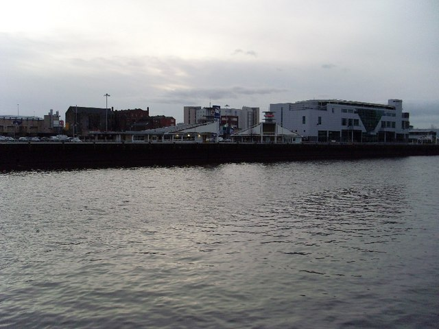 Springfield Quay from across the river