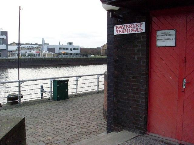 Former Waverley terminal