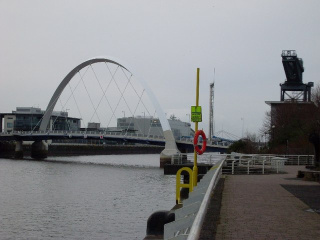 Clyde Arc and Finnieston Crane