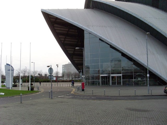 Entrance to Clyde Auditorium
