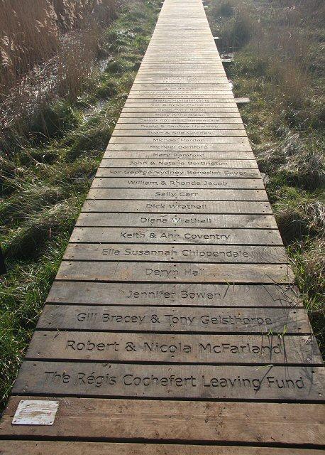 Boundary boardwalk, Snape Maltings