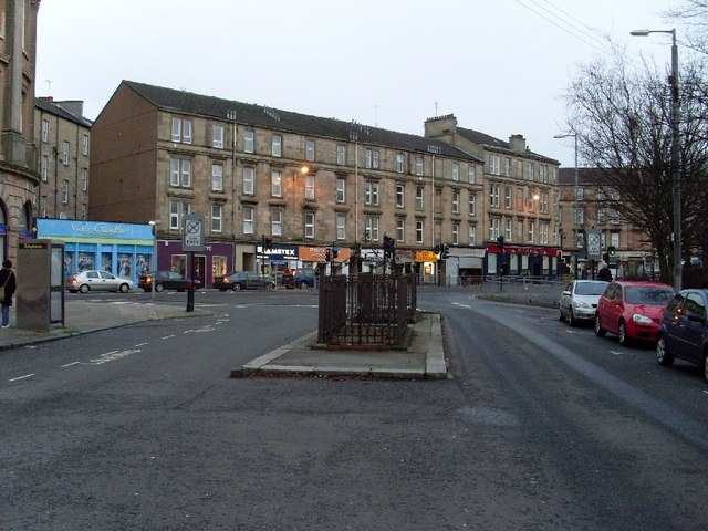 Looking to Argyle Street, Finnieston