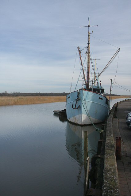 MV Nadir at Snape Maltings