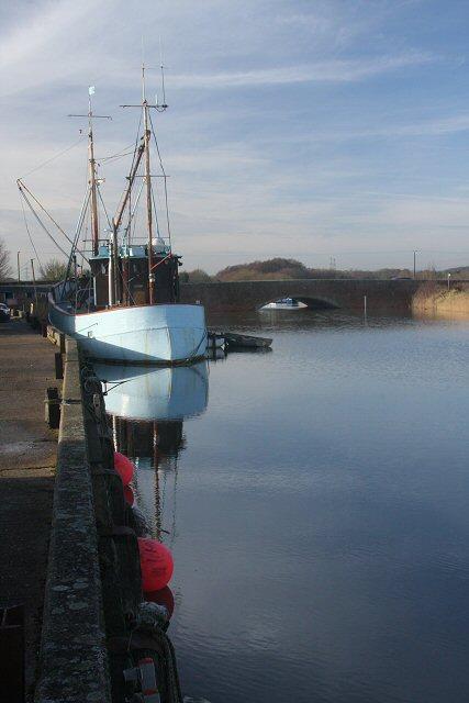 Snape - quay and bridge